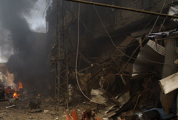 Malide bombalı saldırı