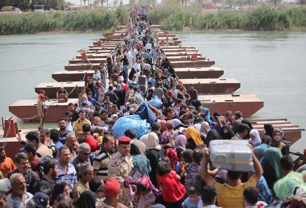 Enbardan 90 binden fazla kişi göç etti