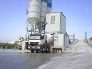 Hazır beton üretimi geriledi