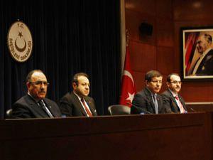 Bakan Davutoğlu müjdeyi Konyada verdi