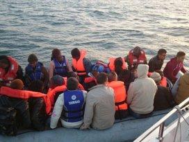 Ege Denizinde 336 kaçak kurtarıldı