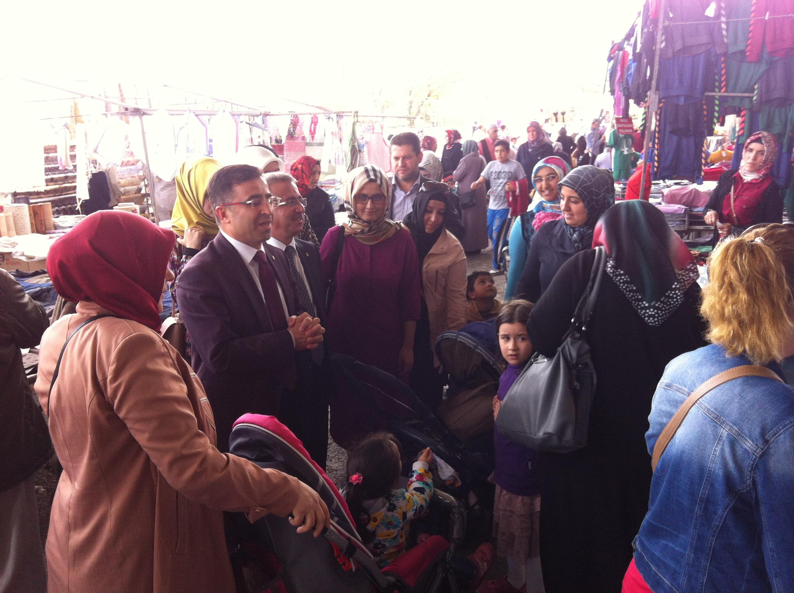 Ak Parti Meramda seçim çalışmaları devam ediyor