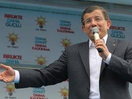 Ahmet Davutoğlundan Çankırıda önemli açıklama!