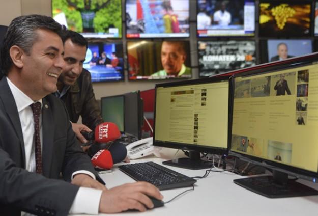 TRT WORLDün internet sitesi yayına başladı