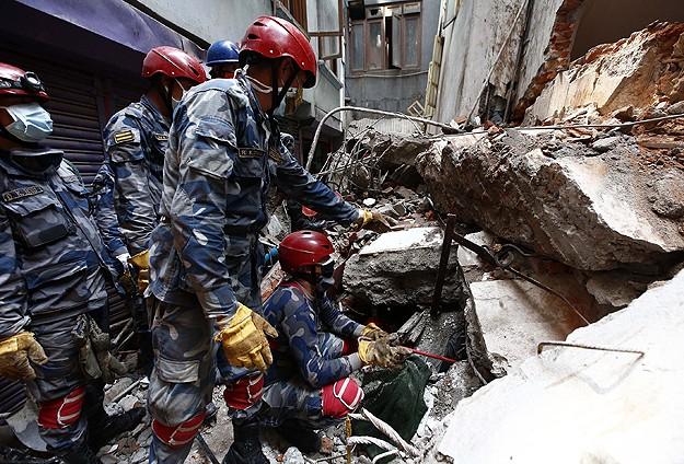 Nepalde ölü sayısı her geçen gün artıyor