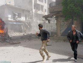İdlibe klor gazlı saldırı