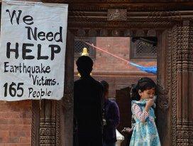 Nepal'e uluslararası yardım