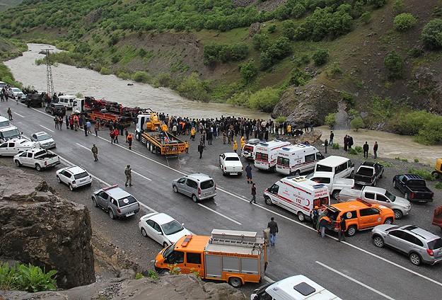 Zapta kaybolan 5 kişinin cesedine ulaşıldı