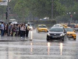 7 il için kuvvetli yağış uyarısı
