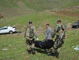 Sınırdan geçerken donarak öldüler