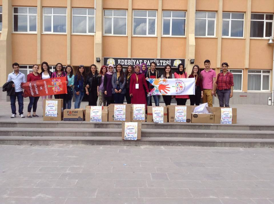 ALES kalemleri ihtiyaç sahibi öğrenciler için toplandı