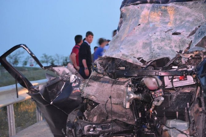 Konyada trafik kazası: 1 ölü, 6 yaralı
