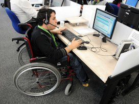 Kamuda engelli sayısı 40 bini aşacak