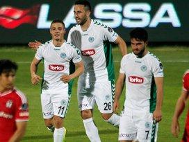 Torku Konyaspor Beşiktaşı dize getirdi! 1-0