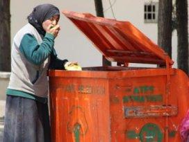 Çöpten yiyen Suriyeli kadın yalan çıktı