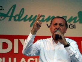 Erdoğan: Para kesildi Gülen hoplamaya başladı