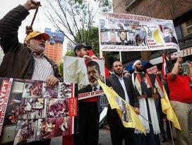 Mursiye idam kararına New Yorkta protesto