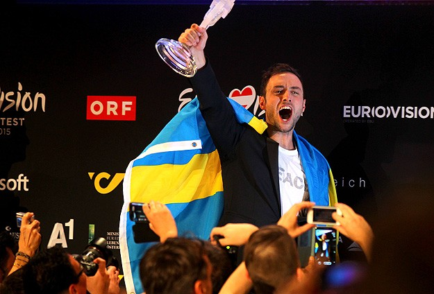 2015 Eurovision Şarkı Yarışmasını İsveç kazandı