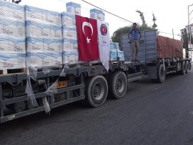 Türkiye Gazzeye verdiği sözleri tutuyor