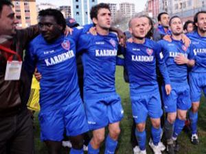 Karabük artık Süper Lig takımı