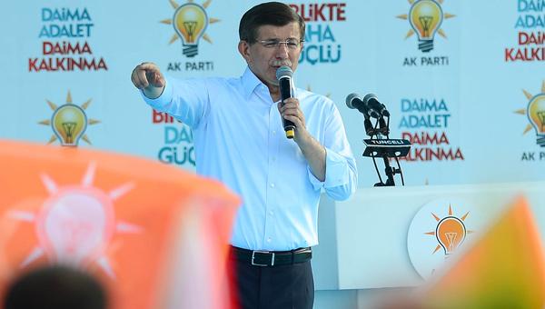 Davutoğlu, şok tehdidi açıkladı
