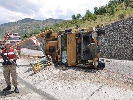 Adıyamanda 2 askeri araç devrildi: 4 yaralı
