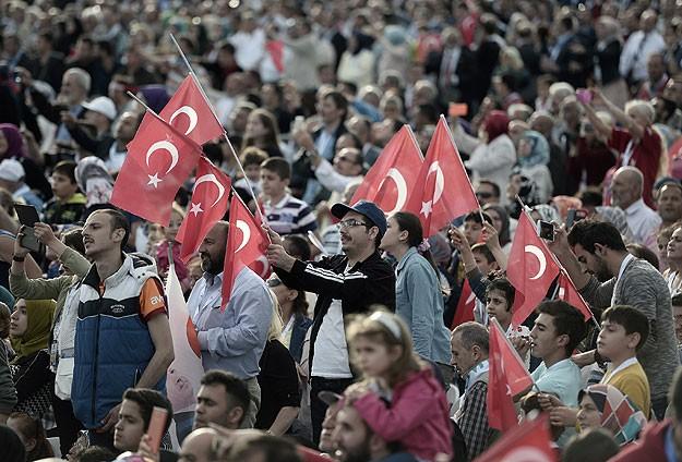 İstanbulun fethine coşkulu kutlama