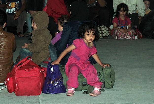 Alanyada kaçak göçmen operasyonu