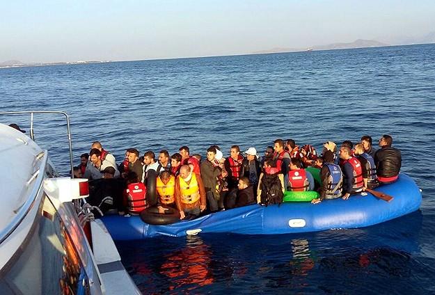 Ege Denizinde 428 kaçak kurtarıldı