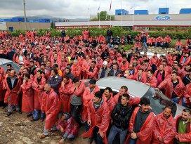 Ford Otosanda işçilerin eylemi sona erdi