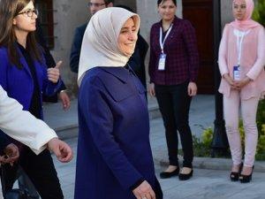 Sare Davutoğlu oy kullandı
