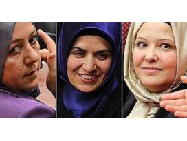 AK Parti listesinden Meclise giren 19 başörtülü vekil
