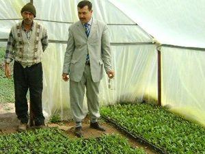 Altınekinli çiftçi zoru başaracak