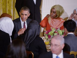 Obama'dan Beyaz Saray'da iftar