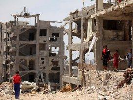 Gazzenin yeniden imarı için anlaşma