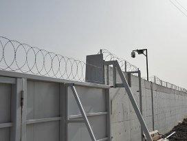 Mürşitpınarda sınır hattı 24 saat izleniyor