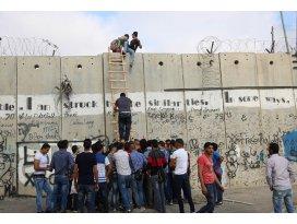 Filistinli gençler engel tanımıyor