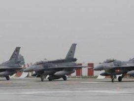 Türk jetleri alarm durumunda