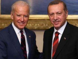 Erdoğan Bidenla görüştü