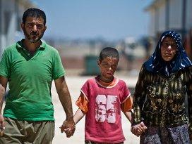 Yüzü yanan Suriyeli çocuğun umudu Türk doktorlar