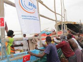 Türkiyeden Cibutiye yardım eli
