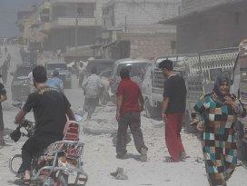 Halepte klor gazlı saldırı iddiası