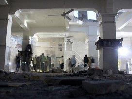 Halepte camiye varil bombalı saldırı
