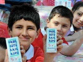 Üç eğitim öğretim yılında süt dağıtılacak
