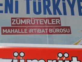 AK Parti bürosuna saldırı