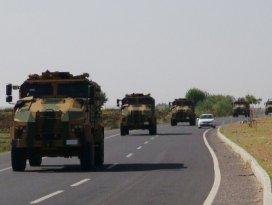 Diyarbakırdan askeri sevkiyat