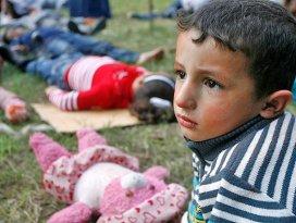 Gazzeli çocukların yarısı stres bozukluğu yaşıyor
