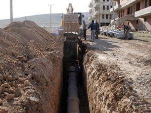 Büyükşehirin kanalizasyon hedefi