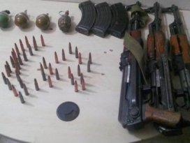 Erzurumda 3 uzun namlulu silah ele geçirildi