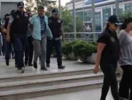 Bursada gözaltındaki 8 kişi adliyede